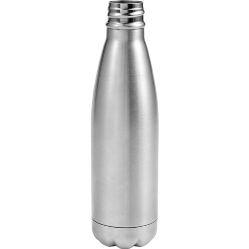 Stainless steel double walled water bottle (500ml) 8223_032 (silver)
