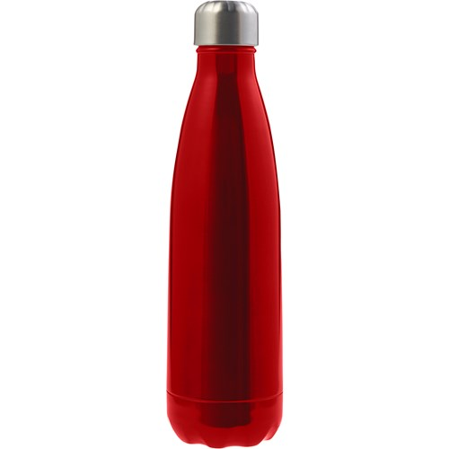 Stainless steel double walled water bottle (500ml) 8223_008 (red)