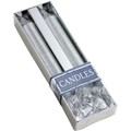 8217 Glitter candles with glass holder._032 (silver)