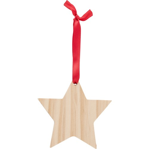 Wooden star 9051_011 (brown)