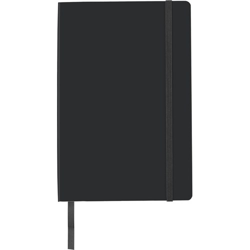 PU soft cover notebook, approximately A5. 8276_001 (black)