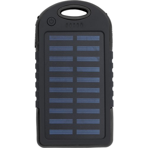 Solar power bank 9333_001 (Black)
