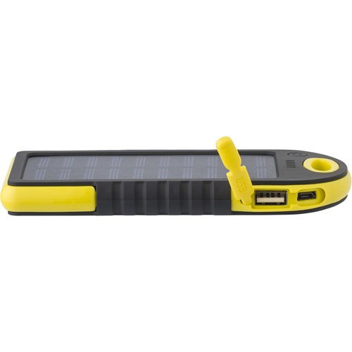 Solar power bank 9333_006 (Yellow)