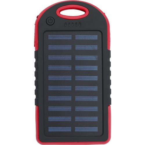 Solar power bank 9333_008 (Red)