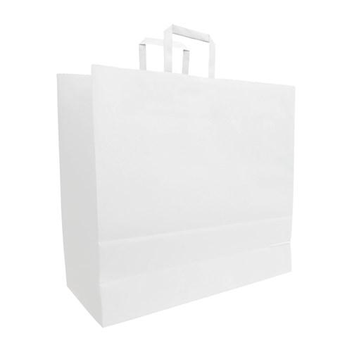 Budget paper bag, Flat handles - 450 x 160 x 480 mm 300310_02.