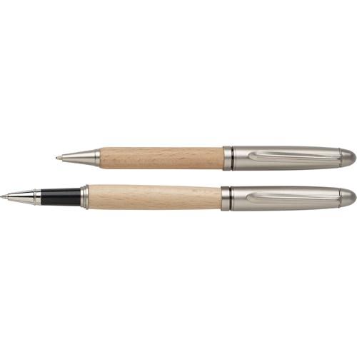 Bamboo writing set 9156_011 (Brown)
