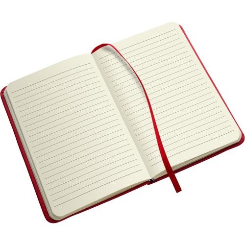 Notebook soft feel (approx. A5) 3076_008 (Red)