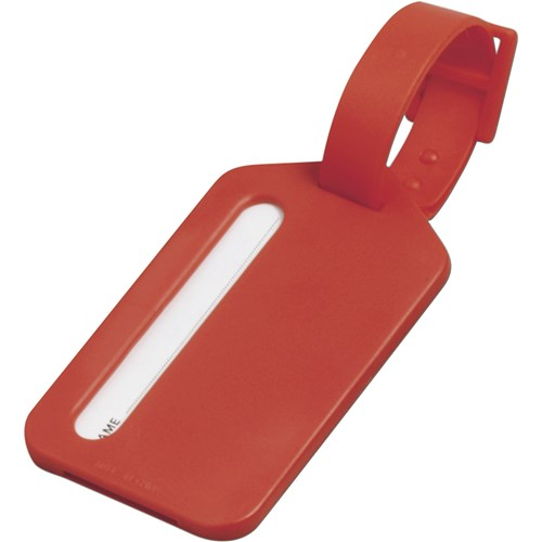 Luggage tag 3132_008 (red)