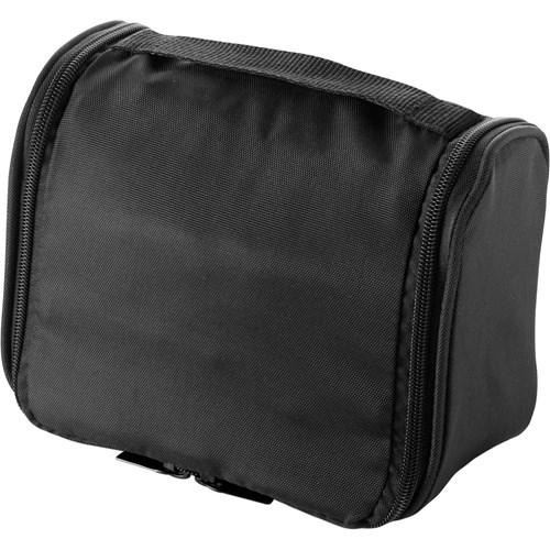 Polyester (600D) travel/toiletry bag                6427_001 (black)