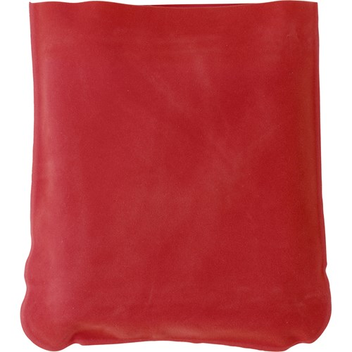 Inflatable velour travel cushion 9651_008 (red)