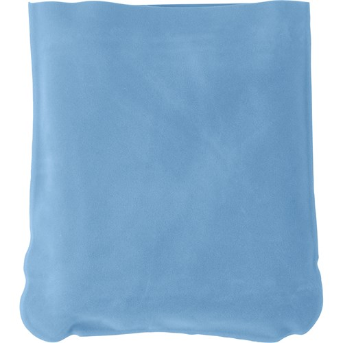 Inflatable velour travel cushion 9651_018 (light blue)